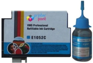 VMS 73N For Epson Refillable Prefilled 10ML Cartridge & with 30ML Single Color Ink