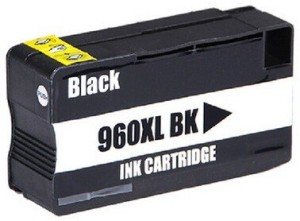 Dubaria 960 XL Black Ink Cartridge Compatible For HP 960XL / CZ665AA Black Ink Cartridge For OfficeJet Pro 3610, 3620 Printers Single Color Ink