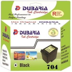 Dubaria 704 / CN692AA Cartridge - HP Compatible For Use in Deskjet Ink Advantage 2010, 2060 Single Color Ink