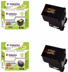 Dubaria Ink Cartridge For HP DeskJet Ink Advantage 1515 All-in-One Printer Multi Color Ink