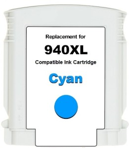 Dubaria 940 XL Cyan Ink Cartridge Compatible For HP 940 XL Cyan Ink Cartridge For Use In OfficeJet Pro 8000 Enterprise Printer - A811a, 8000 - A809a, 8500 -A909b Single Color Ink