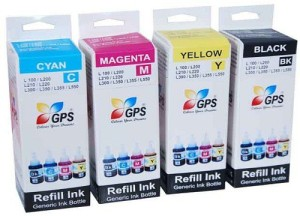 Gps L100 / L110 / L200 / L210 / L355 /L300 / L350 / L550 / L310 / L360 / L365 / L455 / L555 / L565 / L1300 INK Multi Color Ink