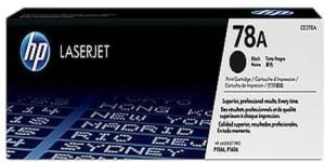 Laser Jet 78A HP Toner Cartridge Single Color Toner