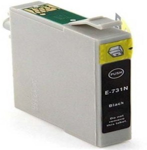 Gocolor Black Refillable Cartridges 73N for Epson Printer TX210/T13/TX121 & Other Printer etc Single Color Toner
