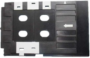 Dubaria PVC ID Card Tray For InkJet Printer Used For Epson L800, L805,  L810, L850, R280, R290, T50, T60, P50, P60 + FREE 5 Units of PVC ID Cards