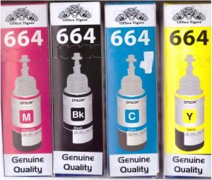 Office Tigers L-100/L-110/L-130/L-200/L-210/L-220/L-300/L-310/L-350/L-355/L-360/L-365/L-455/L-550/L-555/L-565/L-1300 Multi Color Ink