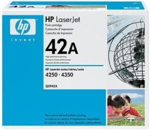 HP 42A Black LaserJet Toner Cartridge