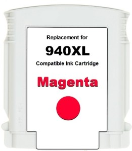 Dubaria 940xl / C4908aa Cartridge - Hp Compatible For Use In Officejet Pro 8000 Enterprise Printer - A811a ,8000 - A809a ,8500 -A909b Single Color Ink