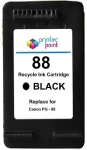 Max 88 Recycle Black Cartridge For Canon Prefilled Single Color Ink