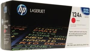 HP 124A Original LaserJet Toner Cartridge(Q6003A) Single Color Toner