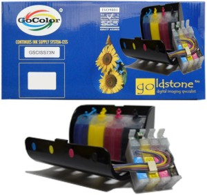 Gocolor Continuous Tank Supply System 73N for All Epson Printer TX210/T13/TX121 Other Printer etc Multi Color Ink