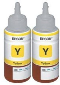 Epson T6644 Yellow Dual Pack bottle 70ml Single Color Ink