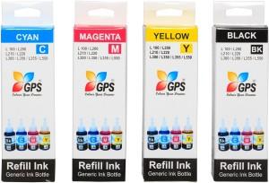 Gps Compatible Ink For Epson L100,L110,L200,L210,L300,L350,L355,L550,L555 Multi Color Ink