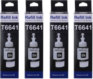 Print Cartridge Epson L100 / L110 / L130 / L200 / L210 / L220 / L300 / L310 / L350 / L355 / L360 / L365 / L455 / L550 / L555 / L565 / L1300 Set of 4 Ink Single Color Ink
