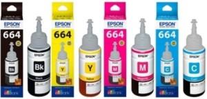 Epson T664 Ink Set Multi Color Ink