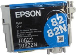 Epson 82N Cartridge Original Cyan Single Color Ink