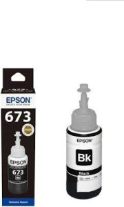 Epson T673 BLACK SINGLE COLOR INK Single Color Ink