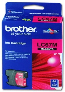 Brother Inkjet Single Color Ink ( Magenta )