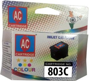 AC-Cartridge AC 803 Color Ink Cartridge HP Deskjet 1112/1112/1111/2131/2132 Printer Multi Color Ink