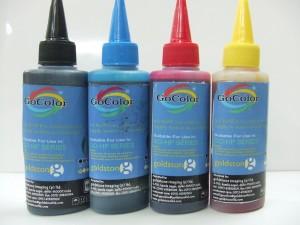Gocolor HP Premium Quality Inkjet 100 ml (Dye Ink) Multi Color Ink