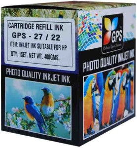 Gps Cartridge Refill Bottle Set For HP/Canon Multi Color Ink