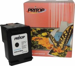 Pritop 818 XL Black Inkjet Cartridge Single Color Ink