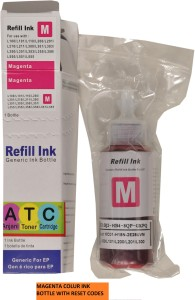 ANJANI TONERS CARTRIDGES Epson L100/L200/L210/L300/L350/L355/L455/L550/L555 Single Color Ink