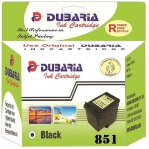 Dubaria 851 / C9364ZZ Cartridge - HP Compatible for use in HP Photosmart 2575 and 8050 5940 Printers Single Color Ink