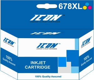 Icon 678XL Multi Color Ink