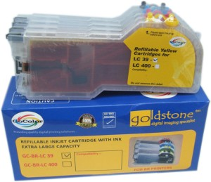 Gocolor Lc 39 Brother Extra Large Cartridge Set of 4 Colours for Brother printers Multi Color
