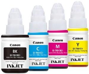 INKJET PIXMA CANON GI790 GENUINE INK Multi Color Ink