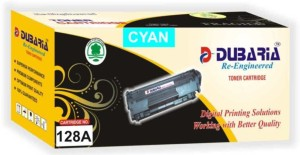 Dubaria Compatible For HP 128A / CE321A Cartridge Multi Color Toner