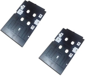 Max Set of 2 PVC ID Card Tray For InkJet Printer Used For Epson L800, L805, L810, L850, R280, R290, T50, T60, P50, P60 Multi Color Ink