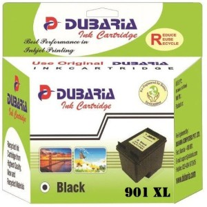 Dubaria 901 XL / CC654AA Cartridge - HP Compatible For Use in Officejet J4500, 4500, J4680 Single Color Ink