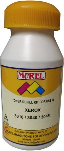 Morel Toner Powder and Chip for use in Xerox 3010 / 3040 / 3045 Printer Single Color Toner