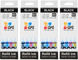 Gps Epson L100,L110,L200,L210,L300,L350,L355,(4 BOTTEL) Single Color Ink