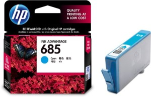 HP 685 Single Color Ink Cartridge
