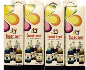 Best Ton Ink Set For Epson L100 / L110 / L130 / L200 / L210 / L220 / L300 / L310 / L350 / L355 / L360 / L365 / L455 / L550 / L555 / L565 / L1300 Multi Color Ink