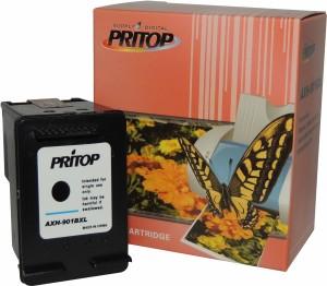 Pritop 901XL Black inkjet cartridge for HP Officejet J4640, 4500, 4500 Desktop, J4580, J4660 Single Color Ink
