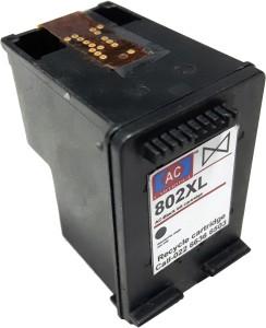 AC-Cartridge AC 802XL Black ink cartridge HP 3050/J610/2000/J210/2050/J510/3000/J310/1050/J410/1000/J110/2010/K010/2060/K110. Single Color Ink