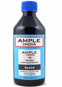 Ample India 200ML Compatible for Epson L100,L110,L200,L210,L300,L350,L355,L550,L555 Single Color Ink