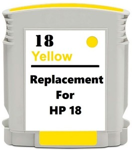 Dubaria 18 Yellow Ink Cartridge Compatible For HP 18 Yellow Ink Cartridge Single Color Ink