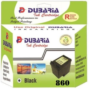 Dubaria 860 Black Ink Cartridge Compatible For HP 860 Black Ink Cartridge Single Color Ink