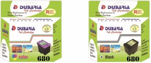Dubaria Ink Cartridge For Use In HP DeskJet 4535 All-in-One Wireless Color Ink Printer Multi Color Ink