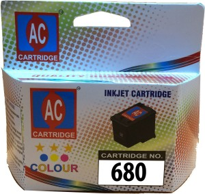 AC 680 Color ink cartridge compatible HP 2135, 3653, 3835, 4535. Single Color Ink