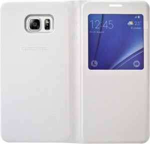COVERNEW Flip Cover for Samsung Galaxy S6 edge+ (G928G)