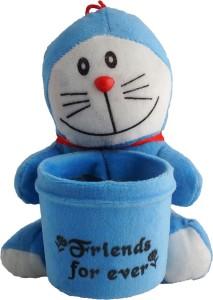 Aarushi Doraemon Stuffed Toy Pen Holder  - 16 cm