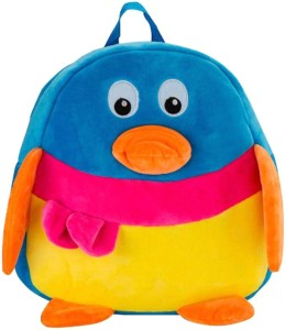 Gifteria Blue Duck Plush School Bag  - 36 cm
