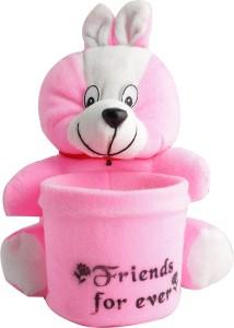 Aarushi Teddy Stuffed Toy Pen Holder  - 16 cm