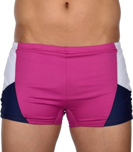 AquaChamp Export Quality - Multicolor Swim Trunk for Men/Boys - A114 Solid Men's Swimsuit